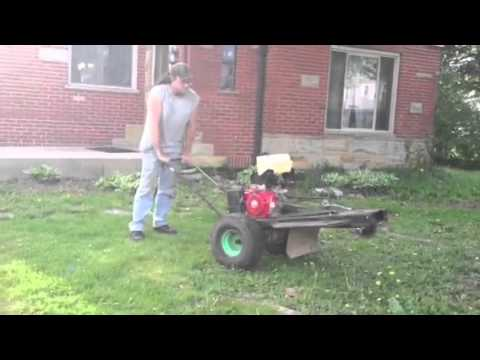 Homemade Stump Grinder Youtube