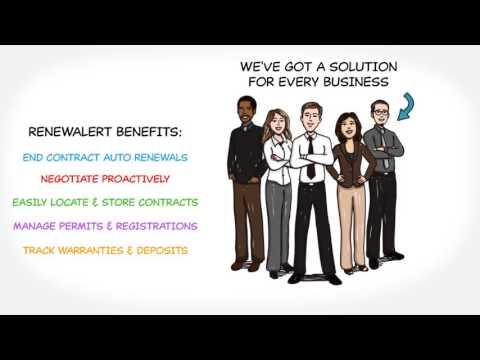 RenewAlert Business Management System