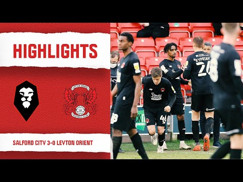 Salford Leyton Orient Goals And Highlights