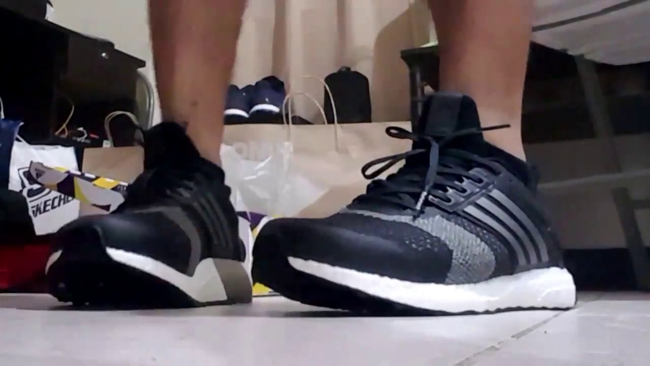 Adidas ultra Boost St 'Black GRIS ba7838' en pies Preview YouTube