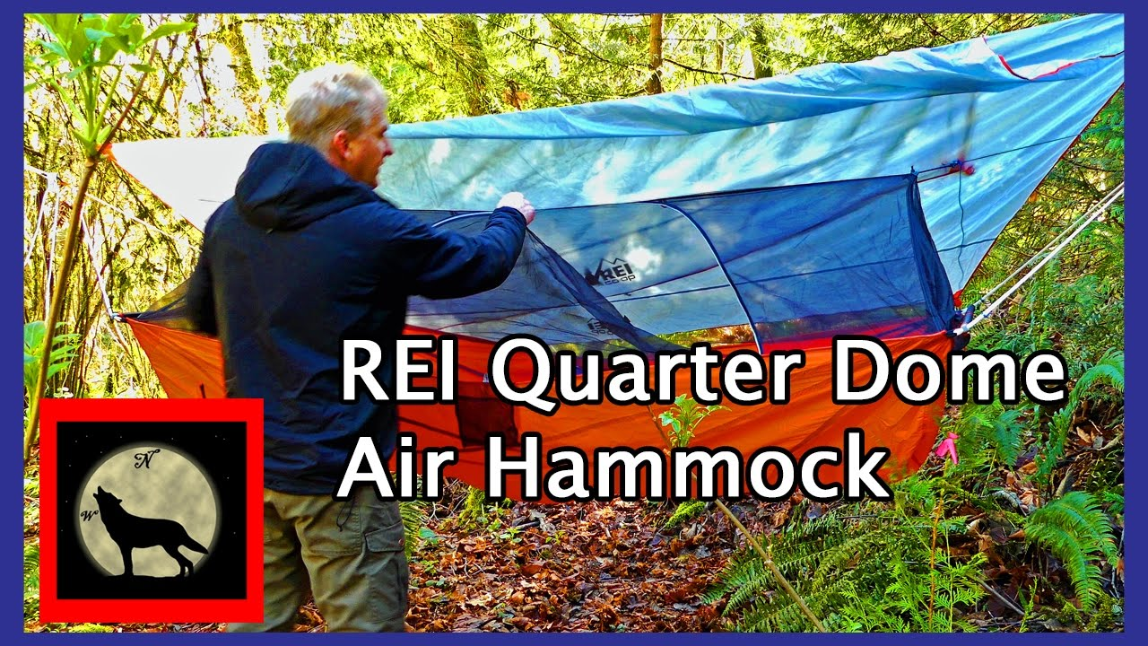 rei quarter dome air hammock and tarp  lightweight and affordable bridge hammock rei quarter dome air hammock and tarp  lightweight and affordable      rh   youtube