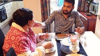 Happy Family time on weekend | Enjoyed yummy paneer and aloo kulcha
