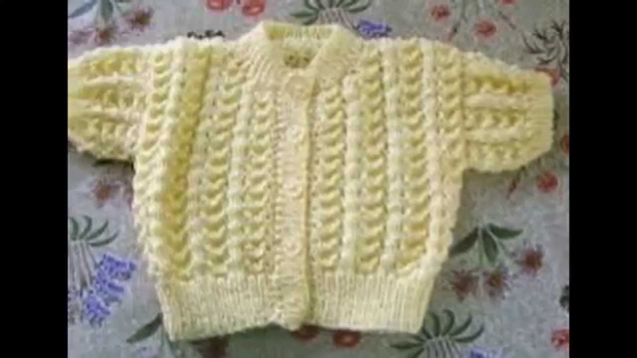c587bf45f501 Handmade Sweaters -Baby - YouTube