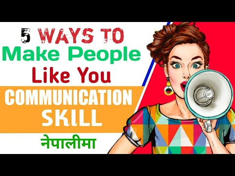 Communication - How To Win Friends And Influence People | Inspirational Video In Nepali (2019)