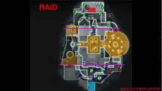 Black Ops 2 RAID Spawns and Strategies (All Spawn Points For Raid)