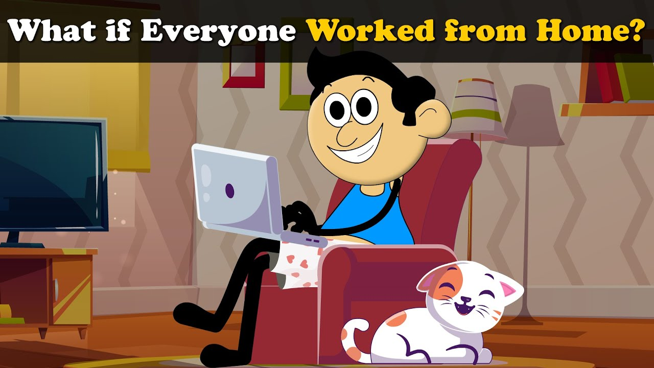 What if Everyone Worked from Home? + more videos | #aumsum #kids #science #education #children