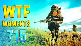 PUBG WTF Funny Daily Moments Highlights Ep 715