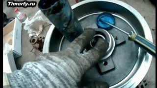 замена тормозного барабана Passat B3/B4