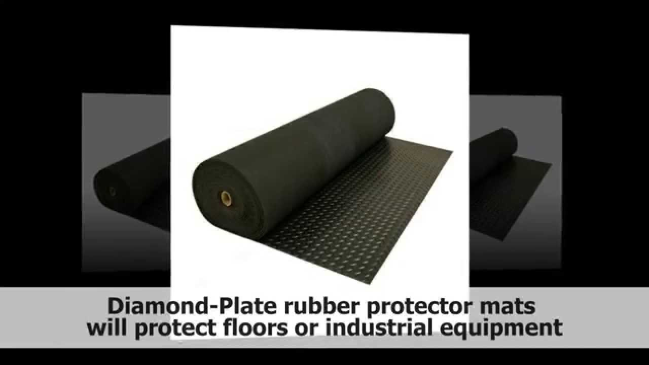 diamond plate rubber flooring rolls 3mm x 4ft wide rolls