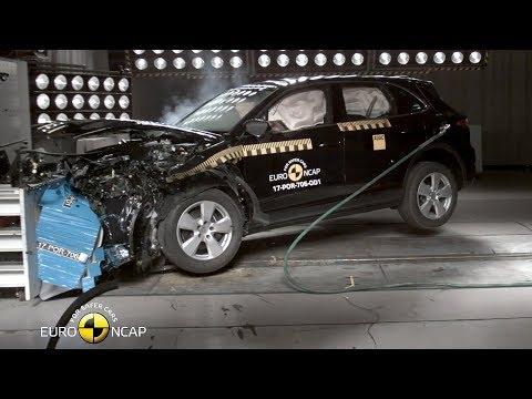 Porsche Cayenne Crash Test Euro NCAP