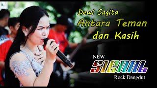 ANTARA TEMAN DAN KASIH - COVER DEWI SAGITA - New Signal Rock Dangdut Sukabumi