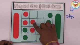 Gambar cover Diagonal Move @ Math Game Puzzle with Solution || Maths Project ||