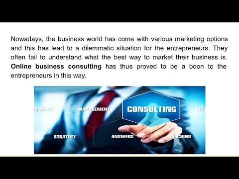 All You Need To Know About Online Business Consulting