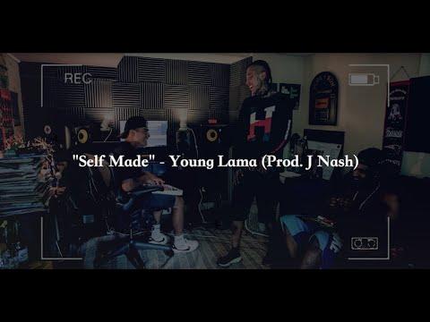 Young Lama - Self Made [Official Lyrics Video] - (Prod. J Nash)