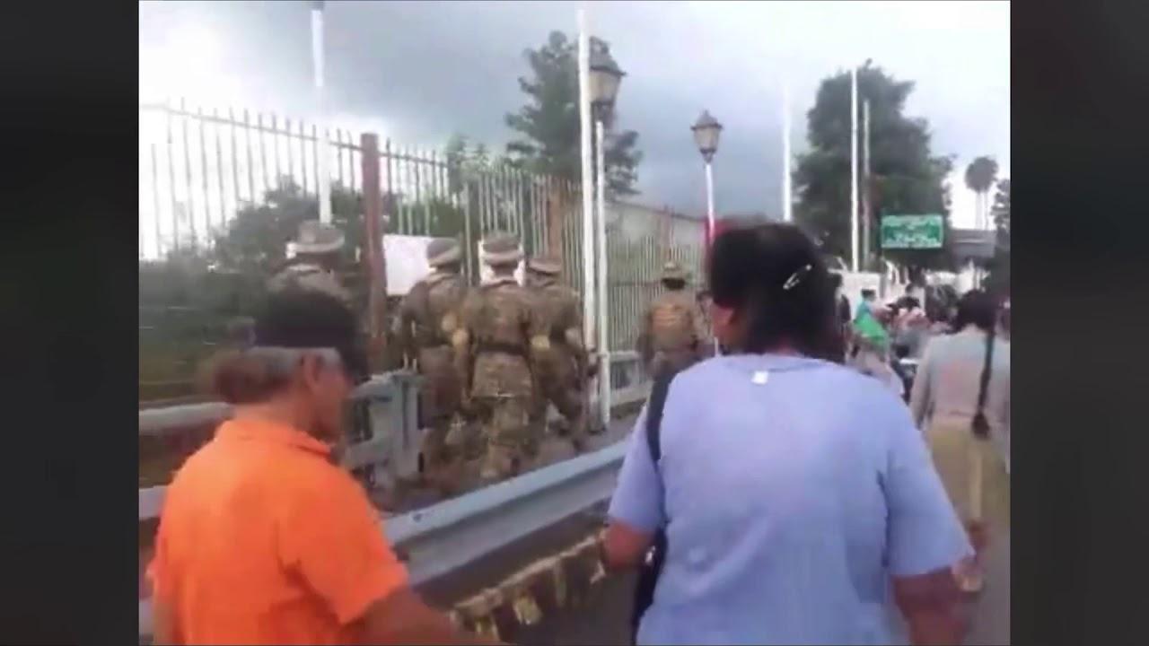 Militares Bolivianos armados en territorio Argentino FM CAPITAL SALTA