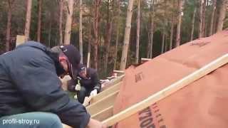 видео Утепление крыши гаража: материалы и способы монтажа