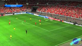 [PES] Pro Evolution Soccer 2014 PC Gameplay [HD] (Ultra Graphics) + Fail Bonus Clip