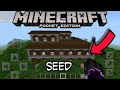 Woodland Mansion Seed!! |Minecraft Pocket Edition 1.1