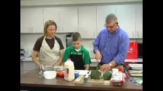 Cooking Show With Rebecca Fliszar & Guest Jim And Sam Glaubitz: Vegetable Egg Bake #47