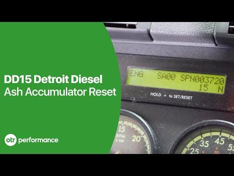 DD15 Soot Level Very High Reset | Ash Accumulator Reset