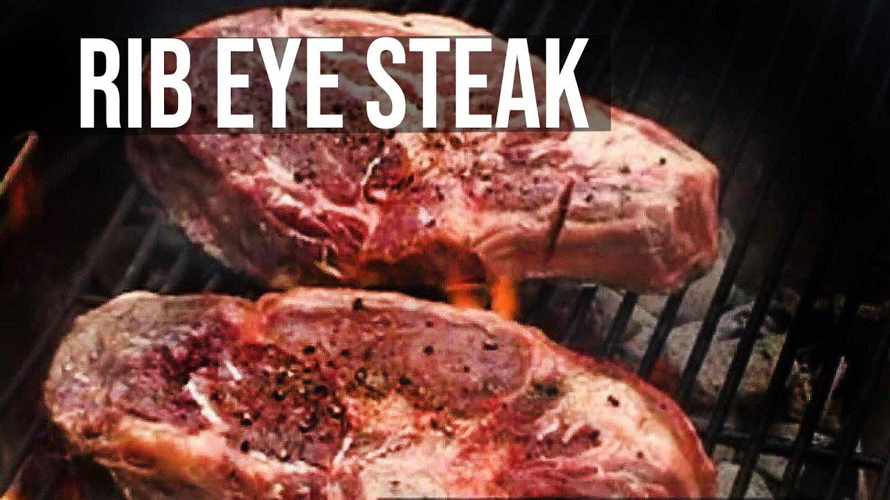 Rib Eye Steak Recipe by the BBQ Pit Boys
