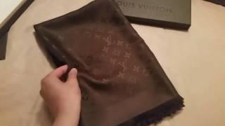 Обзор платка Louis Vuitton LV  Платок луи виттон  из интернет магазина в москве купить