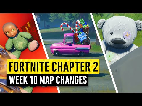 Fortnite | All Chapter 2 Map Updates and Hidden Secrets! WEEK 10