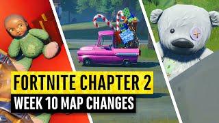 Fortnite | All Chapter 2 Map Updates and Hidden Secrets! WEEK 10