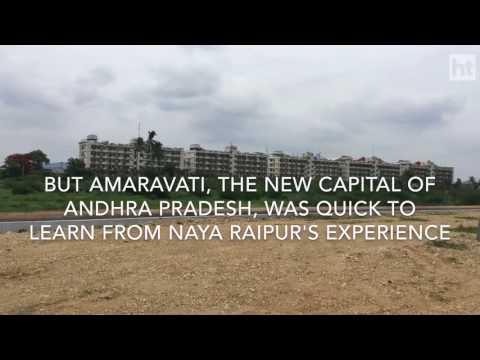 India's Newest Capital Cities- Amaravati and Naya Raipur