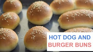 Homemade Burger and Hot Dog Buns recipe ?Hamburger or Hot Dog Buns recipe Cookery school