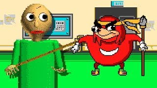 BALDI'S BASICS vs UGANDAN KNUCKLES