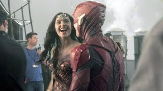 Behind The Scenes on Justice League - Movie B-Roll & Bloopers