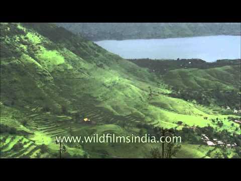 Panchgani, Deccan Traps and view of Krishna river