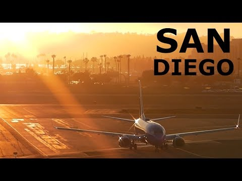 30 Minutes of HD Plane Spotting at San Diego International Airport!