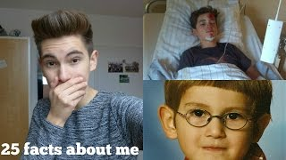 ICH SAH AUS WIE HARRY POTTER | 25 facts about me | Miguel Pablo