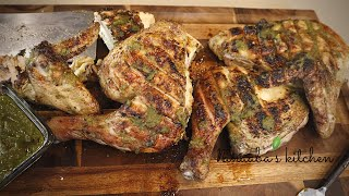 CharcoaL griLLed whole  CHickeN