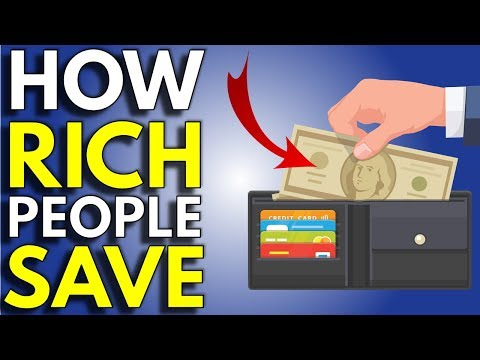 The Secret Saving Trick Of The Rich | How To Save Money Faster