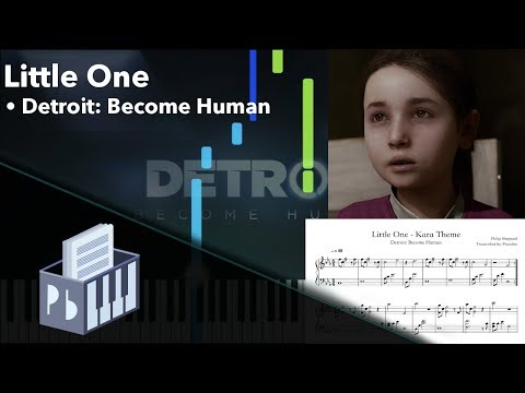 Little One - Detroit: Become Human [Piano Tutorial + Sheets] (Synthesia) // Pianobin