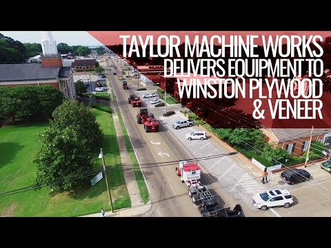 Taylor Machine Works Delivers Equipment Through Louisville, Ms