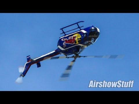 Red Bull Helicopter Aerobatics - EAA AirVenture Oshkosh 2018