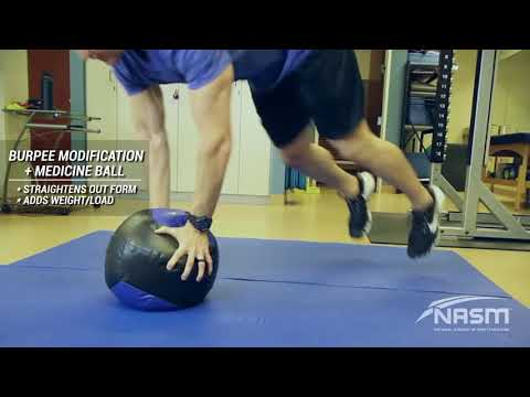 Modification to Burpees
