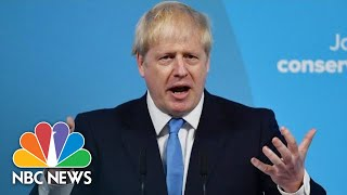 Boris Johnson Promises To Deliver Brexit: 'We Are Going To Take It Forward' | NBC News