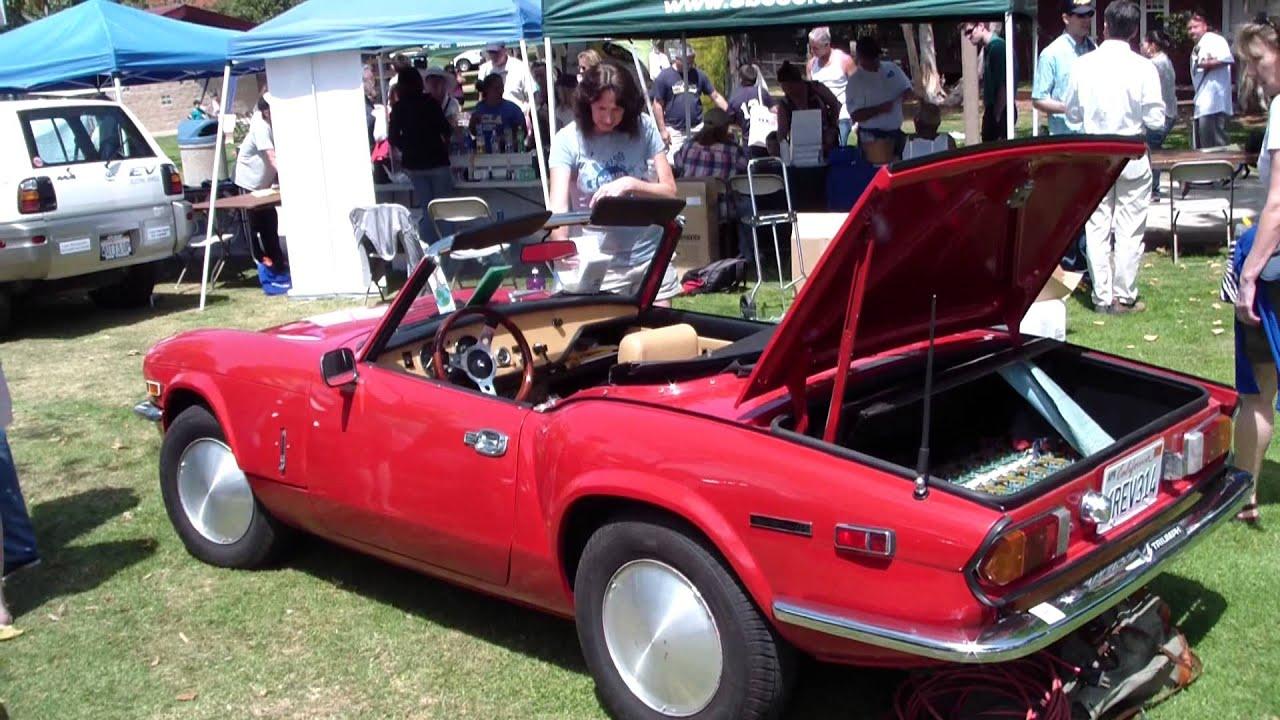 Triumph Spitfire Electric Car