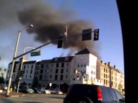 Big Fire in Carson,Ca.