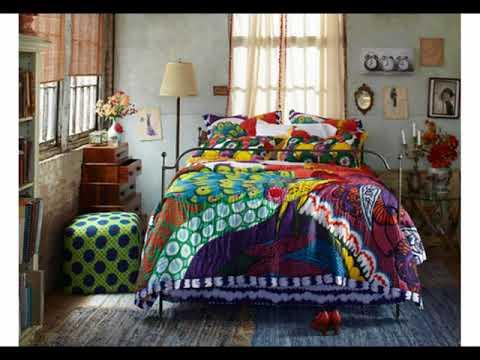 Ideas de decoración de dormitorio hippie