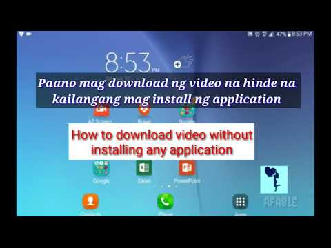 Paano mag download ng video gamit ang savefrom.net,  How to download video  (with English subtitle)