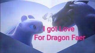 """БЕЗЗУБИК и ДНЕВНАЯ ФУРИЯ КЛИП """"I got Love""""/На заказ Dragon faer"""