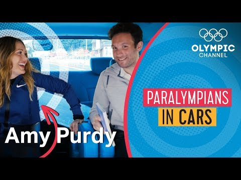 Snowboard Paralympian Amy Purdy Tells All | Paralympians in Cars