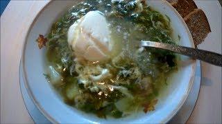 ЩАВЕЛЬНЫЕ щи или зеленые ЩИ SORREL soup or green SOUP