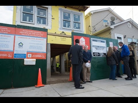 Mayor de Blasio Announces Significant Progress on Sandy Recovery